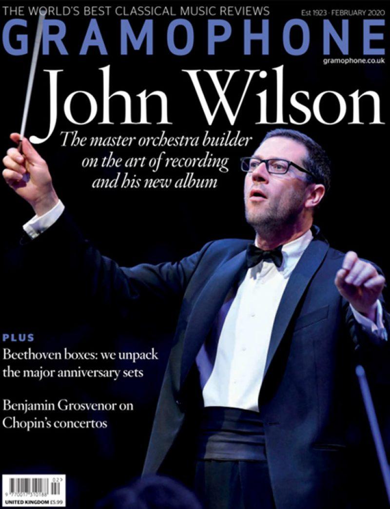 Gramophone Magazine pays tribute to John Wilson